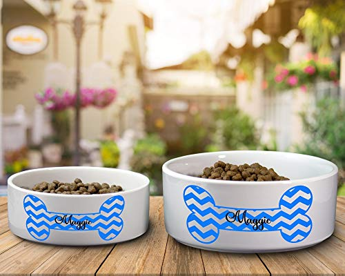 Ceramic Dog Water or Food Bowl - Small or Large Available by Cre8tive DeZinez