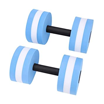 Dioche Mancuernas de Espuma EVA para Ejercicio Aeróbico de Agua, Equipo para Ejercicios de Fitness