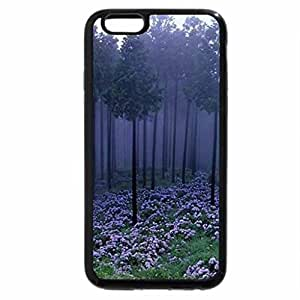 iPhone 6S / iPhone 6 Case (Black) Misty Japanese forest