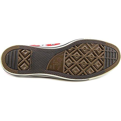 Converse Chuck Taylor Hola tamaño de los zapatos Red