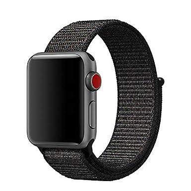 Sport Cinturino In Nylon Hook E Loop del Cinturino della cinghia Per Apple Orologio 4//3//2