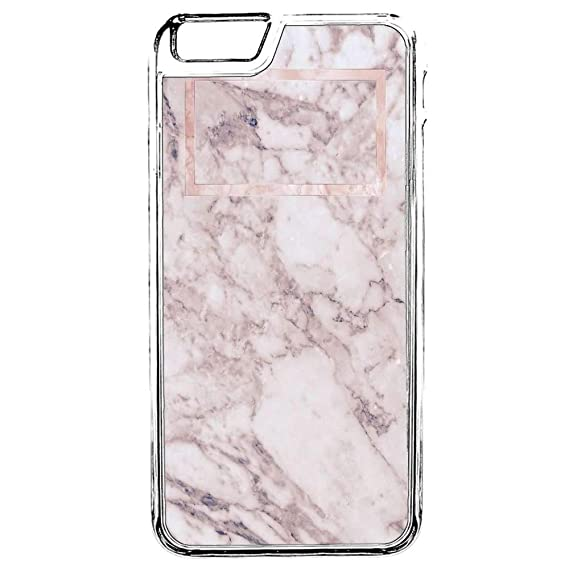 9d88f272d7 Phone Case iPhone 6S,iPhone 6 Marble Case Pink Glossy Marble Flexible Hard  Rubber Case