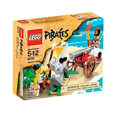 LEGO Pirates Cannon Battle (6239): Toys & Games