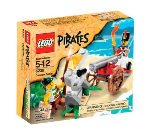 LEGO Pirates 6239 Cannon Battle