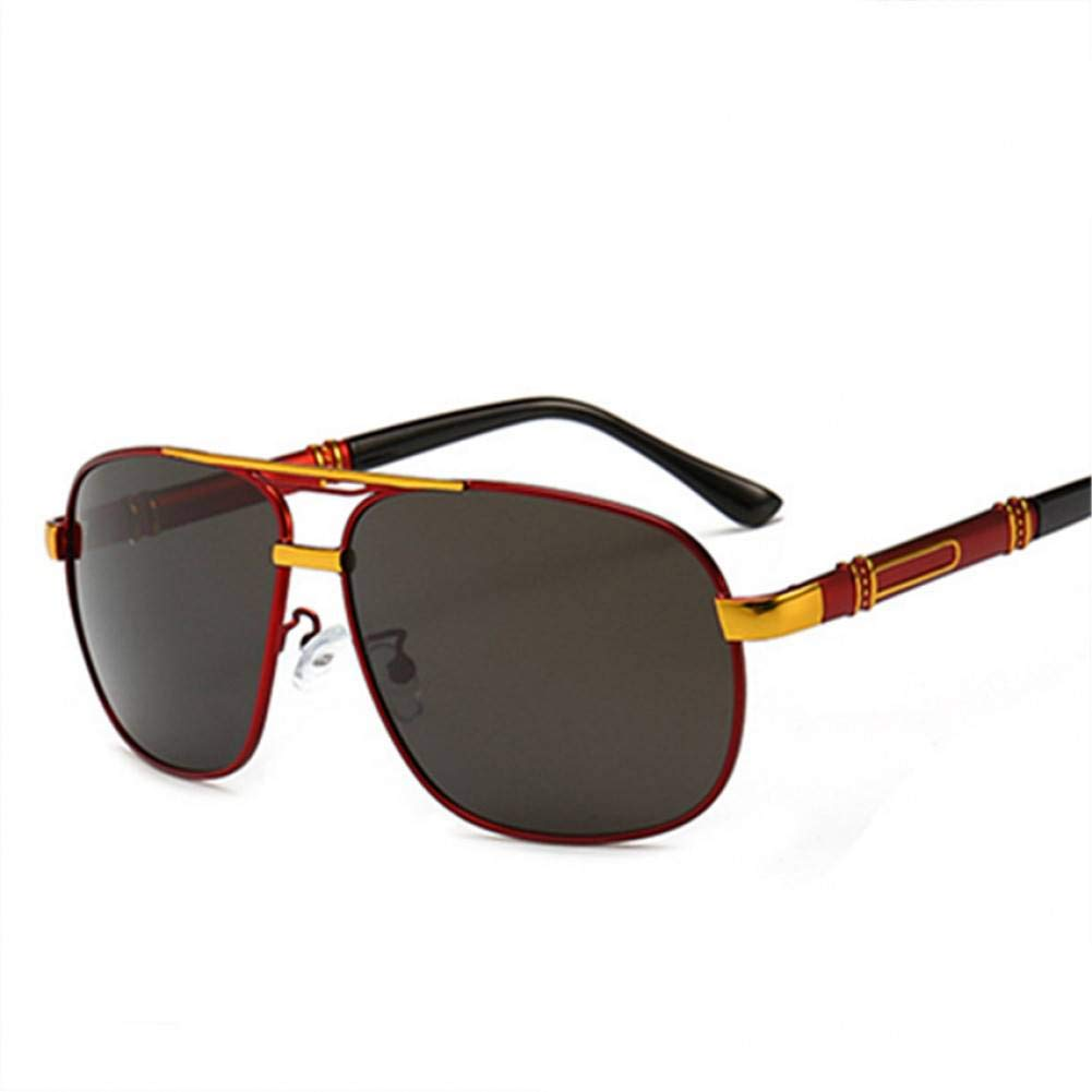 TJJQT Gafas de Sol Gafas de Sol de Hombre polarizadas ...