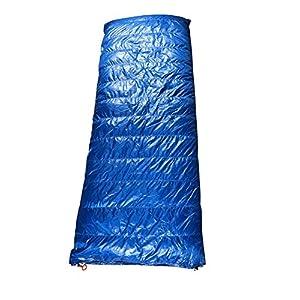 AEGISMAX Spacious Rectangular Down Sleeping Bag 6 Degree Down Sleeping Quilt Ultralight 3 Season Quilt Envelope Down Sleeping Bag for Backpacking,Hiking SP3