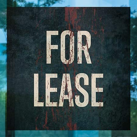 16x16 Ghost Aged Rust Clear Window Cling CGSignLab 2468714/_5gfxc/_16x16/_None for Lease