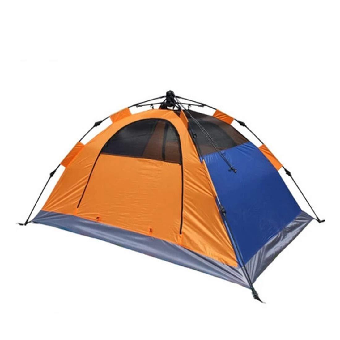 Igspfbjn Zelt Zelt Igspfbjn mit 2 Personen, wildes kampierendes automatisches Zelt (Farbe : Orange) 330b82