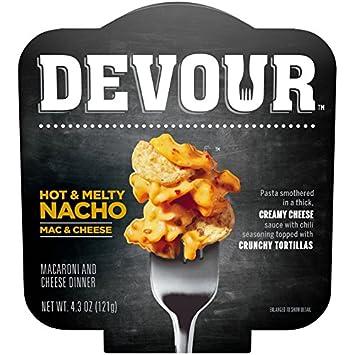 Amazoncom Devour Hot Melty Nacho Mac Cheese 43 Ounce