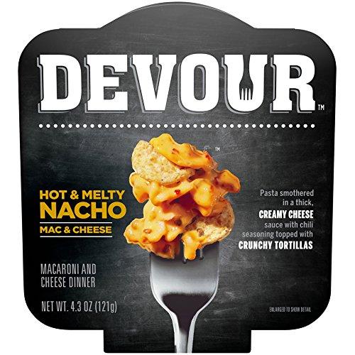 Devour Hot & Melty Nacho Mac & Cheese, 4.3 Ounce