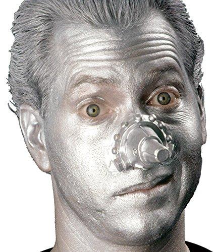 Woochie by Cinema Secrets Tin Man Nose Latex Appliance, Multi, One Size (Tin Man Nose)