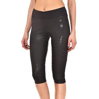 Laisla fashion Mujeres Yoga Pantalones Deportivos Moda Sirena ...