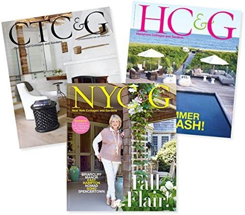 Cottages Gardens Publications All 3 Journals Amazon Com Magazines
