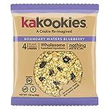 Kakookies Energy Cookies – Boundary Waters Blueberry (Box of 1 Dozen Cookies) – Vegan, Gluten-Free, Soft-Baked Superfood Snack Cookies