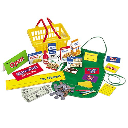 Learning Resources Play Supermarket Set, 93 Pieces