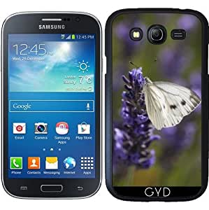 Funda para Samsung Galaxy Grand i9082 - Mariposa Blanca En La Lavanda by UtArt