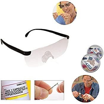 899f84b965 Big Vision Magnifying Glasses As Seen On TV Everything 160 Bigger   Clearer  US