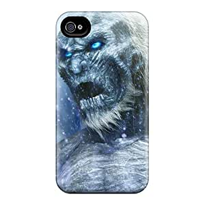 Snap-on Game Of Thrones - White Walkers Case Cover Skin Compatible With Iphone 4/4s