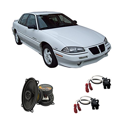 Door Am Front Pontiac Grand (Fits Pontiac Grand Am 1992-1995 Front Door Factory Replacement Harmony HA-R46 Speakers)