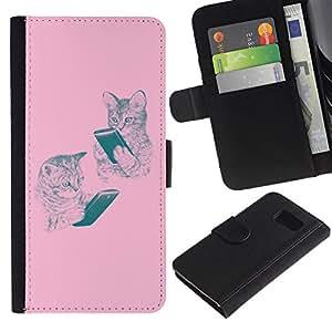 All Phone Most Case / Oferta Especial Cáscara Funda de cuero Monedero Cubierta de proteccion Caso / Wallet Case for Sony Xperia Z3 Compact // tigre rugido animales bostezar lengua feroz