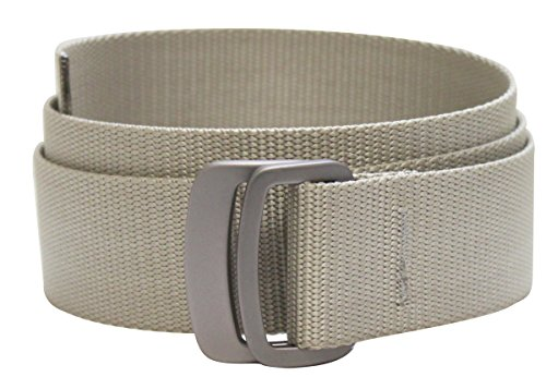 Bison Designs Subtle Clinch Belt, Desert Sand, Large/42
