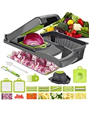 Vegetable Chopper Mandoline Slicer Dicer For Fruits Vegetables, Professional Onion Cutter Vegetable Dicer Food Chopper For Salad, The Best Kitchen Accessories The Latest Version