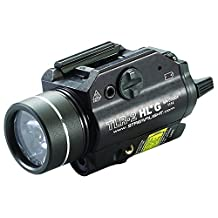 Streamlight 69265 TLR-2 High Lumen G Rail Mounted Flashlight with Green Laser, Black, 720 Lumens