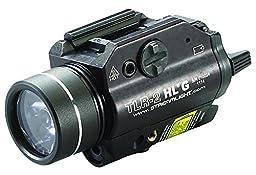 Streamlight 69265 TLR-2 High Lumen G Rail Mounted Flashlight 800 Lumens with Green Laser, Black
