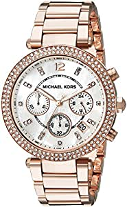 Michael Kors Classic MK5491 Women's Wrist Watches, White Dial