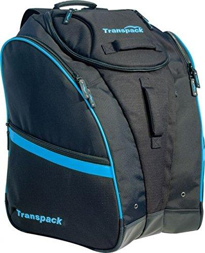 Transpack Competition Pro Ski Boot Bag 2018 - Black-Blue Electric
