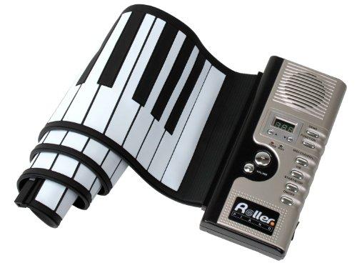 Kirstein 10045 - Piano enrollable con 61 teclas, Midi, transformador y accesorios: Amazon.es: Electrónica