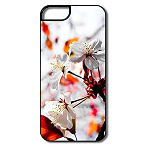 Custom Section ECO Spring Season Flowers IPhone 5/5s Case For Birthday Gift