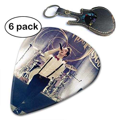 (MyLoire Guitar Picks Panic at The Disco Guitar Accessories Celluloid Guitar Picks Plectrums for Musice Gift Music Lover)