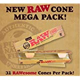 Cônes Classique Brut Mega Pack 32King Size papier à rouler naturel Pre Roulé prêt à remplir–Nouveau produit de Brut vendus par Trendz
