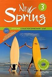Anglais 3e New Spring : A2-B1