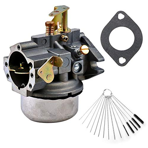 Dosens Carburetor Replacement for Kohler K241 K301 Cast Iron 10 HP 12 HP Engine Carb & Carbon Dirt Jet Cleaner Tool Kit ()