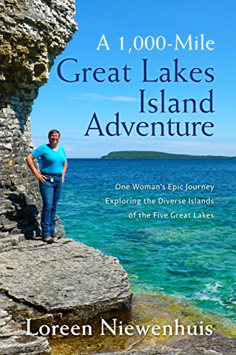 A 1000-Mile Great Lakes Island Adventure: One Woman's Epic Journey Exploring the Diverse Islands of the Five Great - Ontario Mils