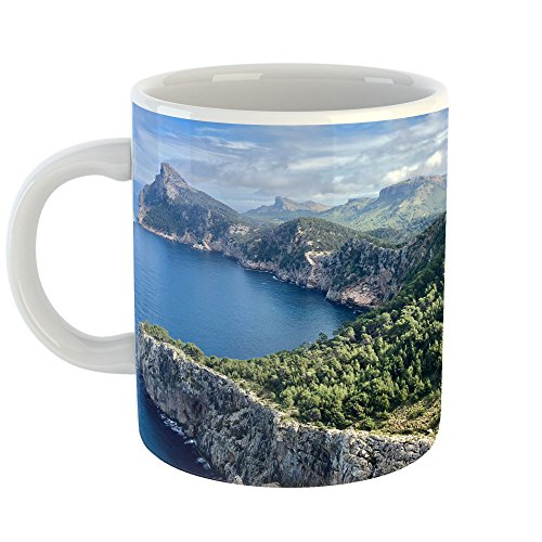Westlake Art - Nature Mountain - 11oz Coffee Cup Mug - Modern Picture Photography Artwork Home Office Birthday Gift - 11 Ounce (B613-163F3) - Finest Reserve Port