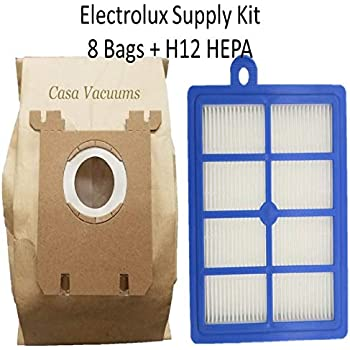 Amazon Com 8 Electrolux Type S Bags 1 H12 Hepa Filter