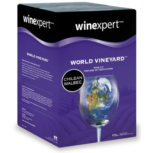 Midwest Homebrewing and Winemaking Supplies HOZQ8-1592 Chilean Malbec (World Vineyard), Red