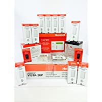 Honeywell Vista 20P, 6160RF, (10) 5816WMWH, (2) 5834-4, Battery, Siren, RJ31X Jack and Cord Kit Package