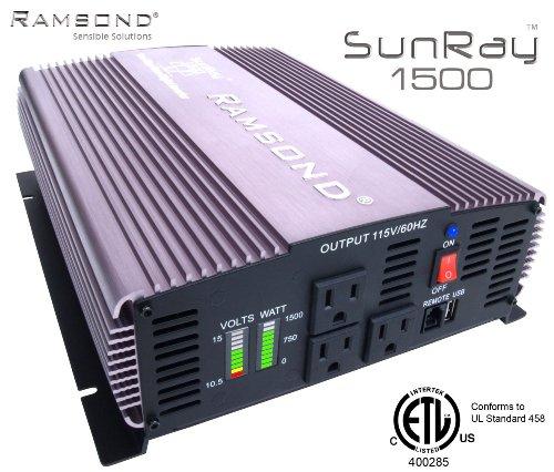 Ramsond SunRay 1500 Inverter Generator product image
