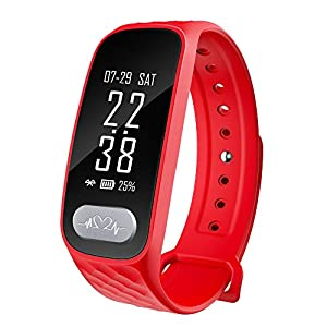 Fitness Tracker Men Women with ECG Blood Pressure Heart Rate Monitor Pedometer Calorie Distance Sleep Tracking Waterproof for Apple and Android