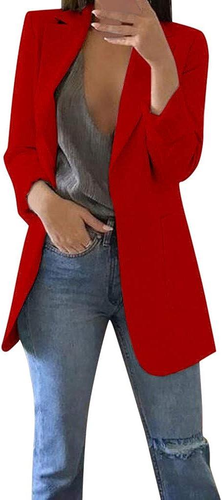 Vectry Cardigans Liquidación Venta Rebajas Abrigo Pelo Parkas Mujer Otoño Invierno Manga Larga Abrigo De Oficina Cardigans Traje Chaqueta Larga 2019 Moda Chaqueta Mujer Casual Blusas