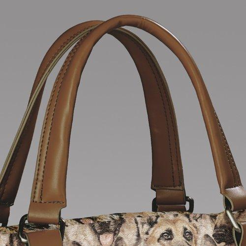 Constant Companion Dog Lovers Cotton Blend Tapestry Handbag: German Shepherd by The Bradford Exchange by Bradford Exchange (Image #2)