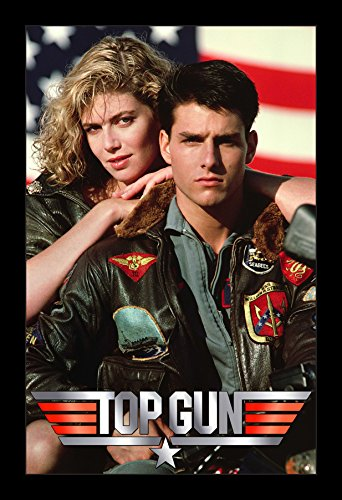 Top Gun - 11x17 Framed Movie Poster by Wallspace