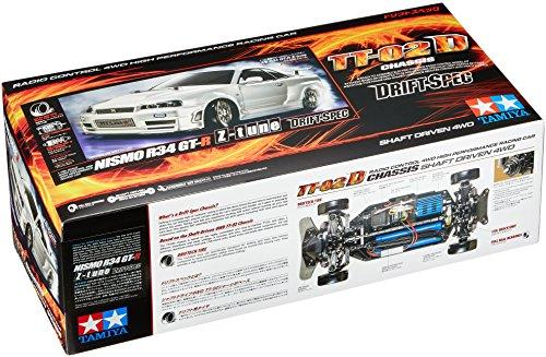 Tamiya 1/10 NISMO R34 GT-R Z-Tune TT02D Drift Special Kit ()