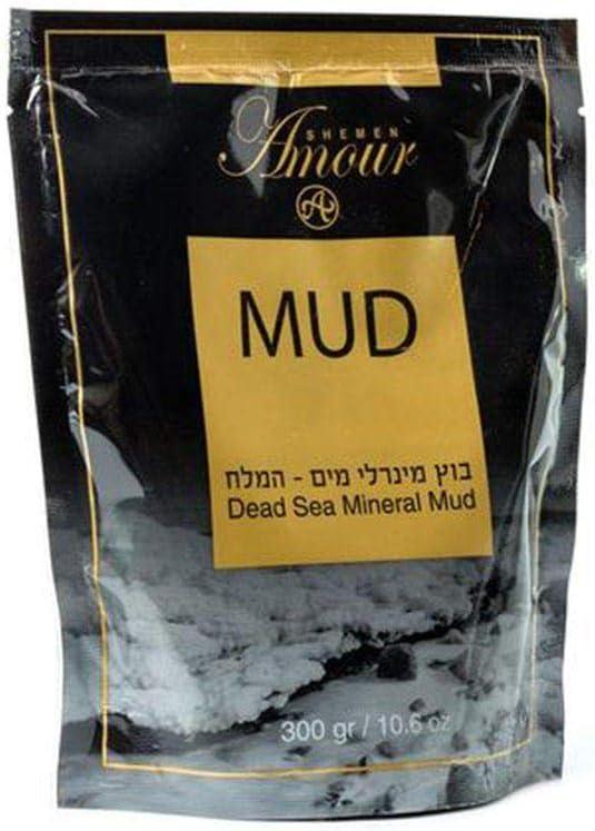 Shemen Amour Dead Sea Minerals Mud 300gr: Health & Personal Care
