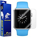 Armorsuit - Apple Watch Screen Protector (38mm Series 3 / 2 / 1 Compatible) MilitaryShield [Max Coverage] Screen Protector for Apple watch 38 mm [2 Pack]