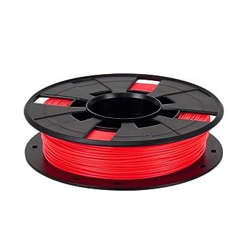 SODIAL Red Abs 3D Filamento de la Impresora Más Colores 1.75 ...